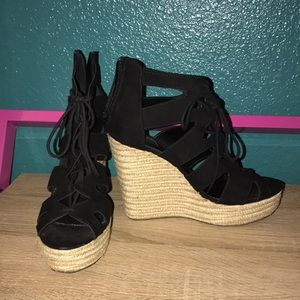Tall wedges
